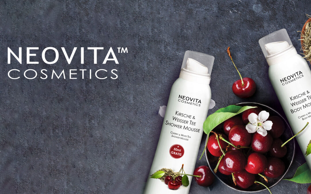 Ny Limited-Edition: Cherry & White Tea Shower- & Body Mousse