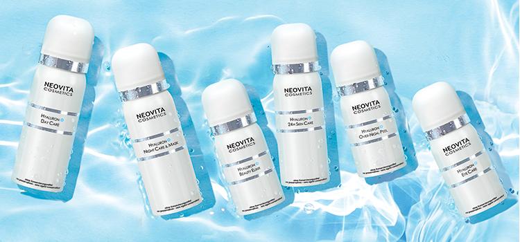 Hyaluron+ Ny serie med hyaluronsyre, der booster hudens fugtniveau